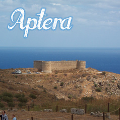 archaeological site of aptera, Chania, Crete